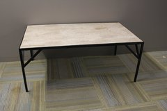 Travertine Table in Tomball, Texas