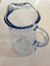 Blue Glass Pitcher in Westmont, Illinois