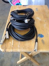 2 new 20' Mic cables & a guitar wire in Byron, Georgia