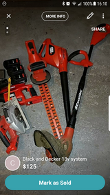 Black and Decker 18v system in Chicago, Illinois