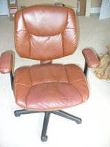 Leather desk chair in Aiken, South Carolina