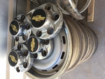 "Factory 16"" chevy wheels in Alamogordo, New Mexico"