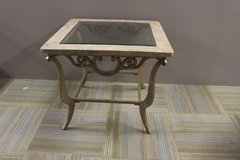 Marble Side Table in Tomball, Texas