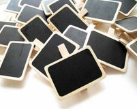 Mini Chalkboard Clips - new in package in Lawton, Oklahoma