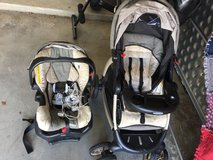 Car seat/stroller and monitor in Oceanside, California