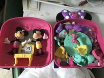 Minnie Mouse bowtique with case in Shorewood, Illinois