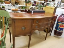 Antique Solid Cherry Elk Furniture 1920's buffet in Naperville, Illinois