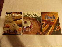 Deck Books Lot of 3 in Fort Campbell, Kentucky