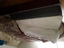 Brand new queen size pillow top mattress and box springs.. paid 500.. must sell within 3 days mo... in Byron, Georgia