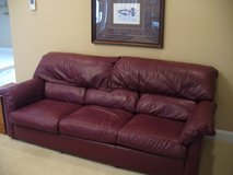 All leather, top quality, Comfortable sofa in Aiken, South Carolina