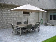 6-8 person patio table and chairs in Aiken, South Carolina