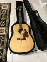 Ibanez Acoustical Guitar LIKE NEW w/ case in Eglin AFB, Florida