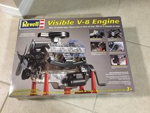 Revell Visible V-8 Engine Kit  Like New in Eglin AFB, Florida