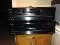 (2) Onkyo 6-Disc CD Changers with Remote in Houston, Texas