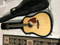 Like New Ibanez Accoustical Guitar with Case in Eglin AFB, Florida