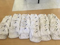 Motherease cloth diaper lot with S/M/L covers, pail, pail liner, and wet bag in Iwakuni, Japan