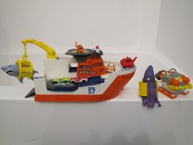 Matchbox Mission: Marine Rescue Shark Ship [Bath Toy] in Naperville, Illinois