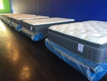 $150 NEW Queen Euro/Pillowtop Mattress Set (760)429-8903 in Camp Pendleton, California