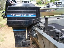 1983 mercury 18 hp outboard with controls in Macon, Georgia