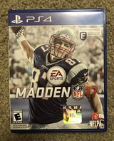 Madden NFL 17 PS4 in Fort Irwin, California