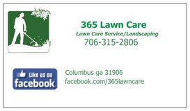 365 Lawn Care in Columbus, Georgia