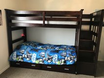 Bunk bed in Beaufort, South Carolina