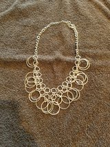 Silver ring chain necklace in Naperville, Illinois