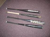 baseball bats, wooden and metal in Naperville, Illinois