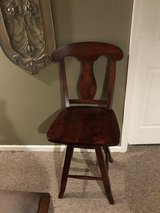 2 Bar stools-cherry wood in Naperville, Illinois