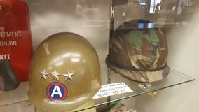 WW II •WORLD WAR 2 HELMETS in Camp Lejeune, North Carolina