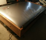 Waterbed frame matress and heater in Naperville, Illinois