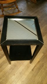 Ikea mirrored end table in Naperville, Illinois