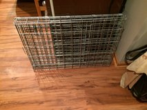 Metal Dog Crate-Foldable in Joliet, Illinois