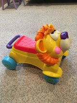 Fisher Price Lion Walker/Rider in Joliet, Illinois