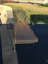 VINTAGE METAL LOUNGER in Aurora, Illinois