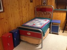 SPORTY TWIN TRUNDLE BED MEATAL FRAME in Lockport, Illinois