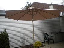 Patio Umbrella and stand in Aurora, Illinois