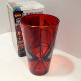 SPIDER MAN RED PINT GLASS - NEW IN BOX in Camp Pendleton, California