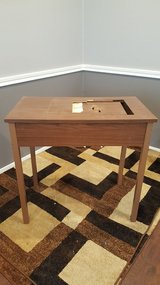 Sewing Machine Table w/storage chest of drawers in Houston, Texas