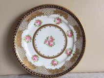 Hand painted Nippon china plate in Joliet, Illinois