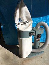 Delta Model 50-840 single stage dust collector in Joliet, Illinois