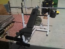 weight bench bar bell great deal in Phoenix, Arizona