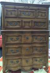 :  ) Beautiful Tall French Provincial All Wood Dresser >>> Very Nice !! in Bolingbrook, Illinois