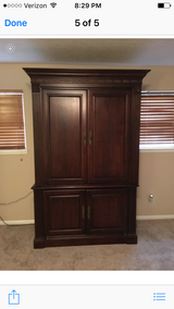 Armoire Solid Wood two pieces in Katy, Texas
