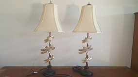 Pair of Dragonfly table lamps in 29 Palms, California