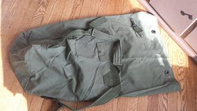 Large military travel bag in Naperville, Illinois