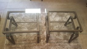 Glass Coffee Table and End Tables in Kingwood, Texas