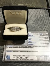 2.01 Round Brillant Diamond GSI certified on a beautiful white gold enhancer in bookoo, US