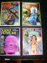 Science Ficture Age Magazines (17) in Travis AFB, California