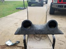 Speaker box for 2 6's- 4 Wheeler ATV Boat Truck RV Camp in Houston, Texas